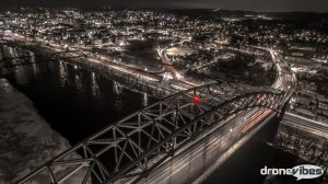 "Learn how this Phantom3 long exposure photo got it's great ""Gotham Style"" look."