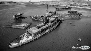 Arthur Kill Ship Graveyard in NYC