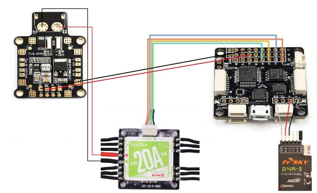 Sp Racing F3 Wiring Diagram from www.dronevibes.com