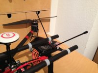 Receiver Antenna placement? | DroneVibes - Drones, UAV's, Multirotor