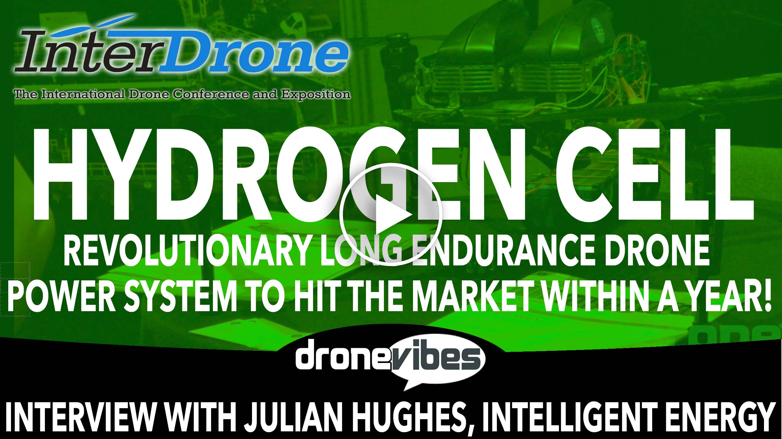 InterDrone 2016: Revolutionary Hydrogen Cell Long Endurance Drone Power System by Intelligent Energy