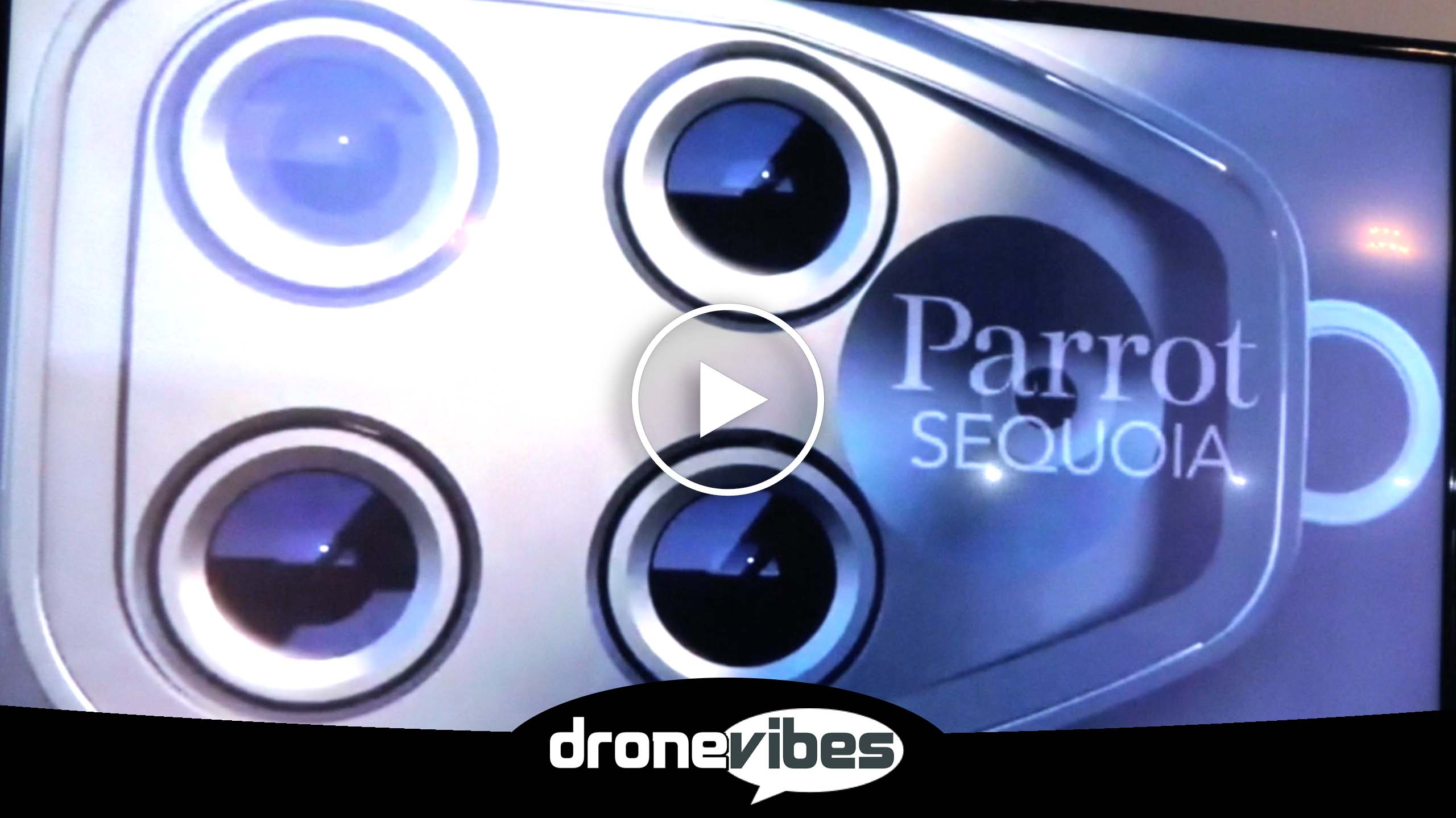Parrot Sequoia – Multispectral Drone Camera/Sensor, Designed for Agri-Business & Crop Management Applications