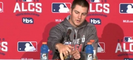 Indian's picture Trevor Bauer explains how he sliced his finger with a drone