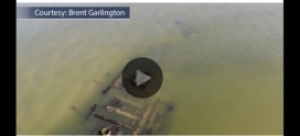 NC Beachgoer Captures Rare Drone Footage of Civil War-Era Shipwreck